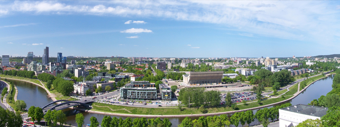 rent a car in vilnius to explore majestic city of lithuania